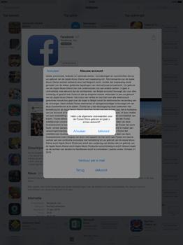 Apple iPad Pro 12.9 inch met iOS9 (Model A1652) - Applicaties - Account aanmaken - Stap 10
