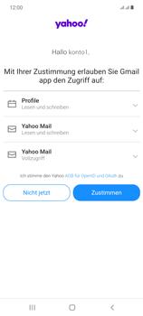 Samsung Galaxy Note 20 5G - E-Mail - 032b. Email wizard - Yahoo - Schritt 11