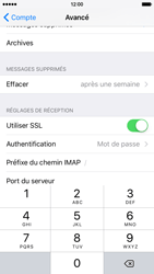 Apple iPhone 6 iOS 9 - E-mail - Configurer l