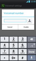 LG P700 Optimus L7 - Voicemail - Manual configuration - Step 7
