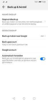 Huawei Mate 20 - Data - maak een back-up met je account - Stap 8