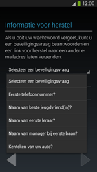 Samsung Galaxy S4 VE 4G (GT-i9515) - Applicaties - Account aanmaken - Stap 13