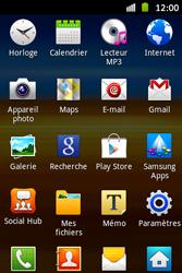 Samsung S6500D Galaxy Mini 2 - E-mail - envoyer un e-mail - Étape 2