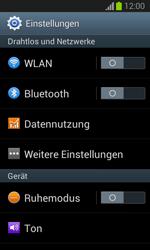Samsung Galaxy Trend Lite - Internet und Datenroaming - Prüfen, ob Datenkonnektivität aktiviert ist - Schritt 4