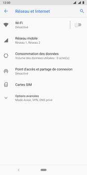 Nokia 9 - Internet - Désactiver les données mobiles - Étape 5