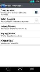 LG G2 - Netzwerk - Netzwerkeinstellungen ändern - Schritt 8