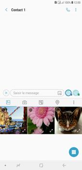 Samsung Galaxy J4+ - Contact, Appels, SMS/MMS - Envoyer un MMS - Étape 9