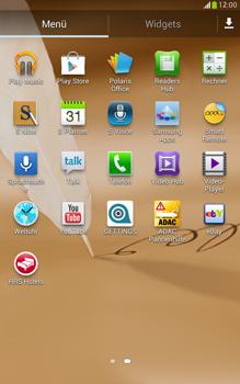 Samsung N5100 Galaxy Note 8-0 - Apps - Konto anlegen und einrichten - Schritt 3