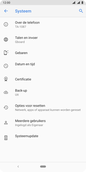 Nokia 9 - Data - Maak een back-up met je account - Stap 6