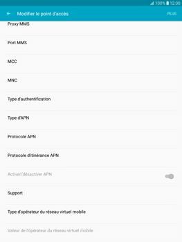 Samsung T815 Galaxy Tab S2 9.7 - Internet - Configuration manuelle - Étape 14