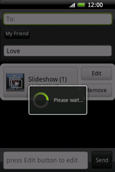 HTC A6262 Hero - MMS - Sending pictures - Step 16
