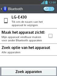 LG E430 Optimus L3 II - Bluetooth - Koppelen met ander apparaat - Stap 6