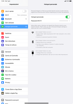 Apple iPad Pro 10.5 (1st gen) - iPadOS 13 - WiFi - Come attivare l
