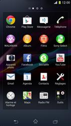 Sony Xperia Z1 Compact - Téléphone mobile - Réinitialisation de la configuration d