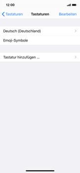 Apple iPhone 11 Pro - Startanleitung - So fügen Sie eine Tastatursprache hinzu - Schritt 6