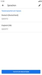 Nokia 8 - Android Pie - Startanleitung - So fügen Sie eine Tastatursprache hinzu - Schritt 13