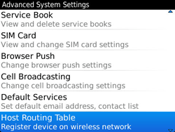 BlackBerry 9360 Curve - Settings - Configuration message received - Step 6