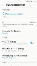Samsung Galaxy J3 (2017) - Internet et roaming de données - Comment vérifier que la connexion des données est activée - Étape 7
