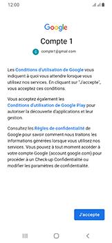 Samsung Galaxy A40 - E-mails - Ajouter ou modifier votre compte Gmail - Étape 11