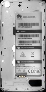 Huawei Y6 - SIM-Karte - Einlegen - Schritt 6