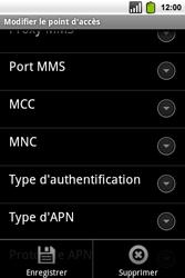Alcatel OT-991 Smart - MMS - Configuration manuelle - Étape 15