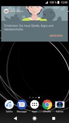 Sony Xperia XZ1 - Startanleitung - Installieren von Widgets und Apps auf der Startseite - Schritt 3