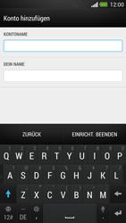 HTC One - E-Mail - Konto einrichten - Schritt 15