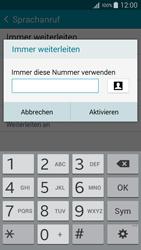 Samsung Galaxy A5 - Anrufe - Rufumleitungen setzen und löschen - 10 / 12