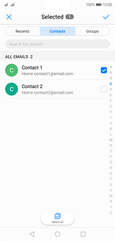 Huawei P20 - E-mail - Sending emails - Step 6