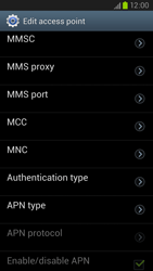 Samsung Galaxy S III LTE - MMS - Manual configuration - Step 12