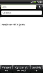 HTC S510e Desire S - e-mail - hoe te versturen - stap 5