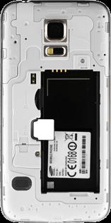 Samsung G800F Galaxy S5 Mini - SIM-Karte - Einlegen - Schritt 3