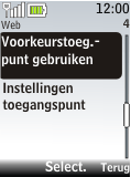 Nokia 2720 fold - Internet - Handmatig instellen - Stap 10
