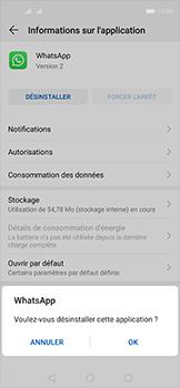 Huawei Nova 5T - Applications - Comment désinstaller une application - Étape 7