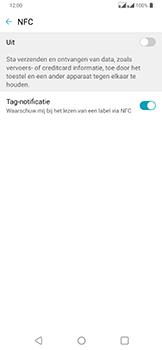 LG g7-fit-dual-sim-lm-q850emw-android-pie - NFC - NFC activeren - Stap 5