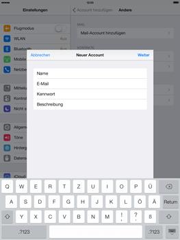 Apple iPad Air - E-Mail - Konto einrichten - 9 / 27