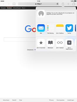 Apple iPad Pro 9.7 - iOS 10 - Internet - internetten - Stap 5