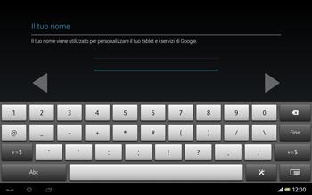 Sony Xperia Tablet Z LTE - Applicazioni - Configurazione del negozio applicazioni - Fase 7