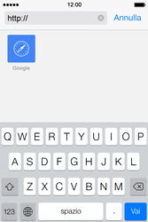 Apple iPhone 4S iOS 7 - Internet e roaming dati - uso di Internet - Fase 12
