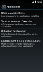 Bouygues Telecom Bs 403 - Applications - Supprimer une application - Étape 5