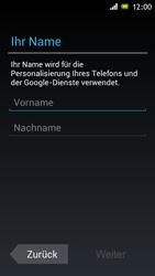 Sony Xperia J - Apps - Konto anlegen und einrichten - 5 / 16