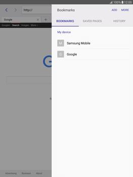 Samsung T815 Galaxy Tab S2 9.7 - Internet - Internet browsing - Step 9