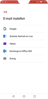 Huawei P20 Pro - E-mail - Handmatig instellen (gmail) - Stap 7