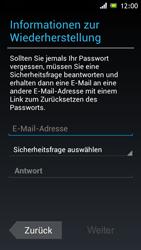 Sony Xperia J - Apps - Konto anlegen und einrichten - 8 / 16