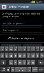 Samsung I8730 Galaxy Express - E-mail - Configuration manuelle - Étape 5