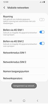 Samsung Galaxy A40 - netwerk en bereik - gebruik in binnen- en buitenland - stap 14