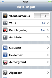 Apple iPhone 3G S - MMS - handmatig instellen - Stap 3