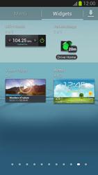 Samsung Galaxy S III - Startanleitung - Installieren von Widgets und Apps auf der Startseite - Schritt 5