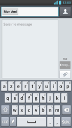 LG Optimus F6 - Contact, Appels, SMS/MMS - Envoyer un SMS - Étape 8