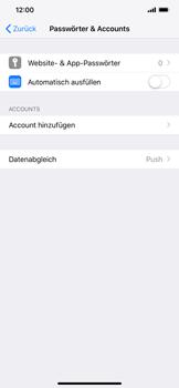 Apple iPhone XS Max - E-Mail - Manuelle Konfiguration - Schritt 4